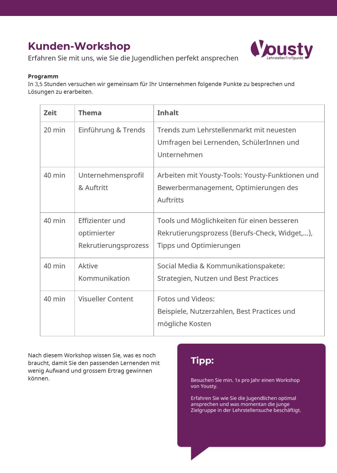 Kunden-workshop-hubspot